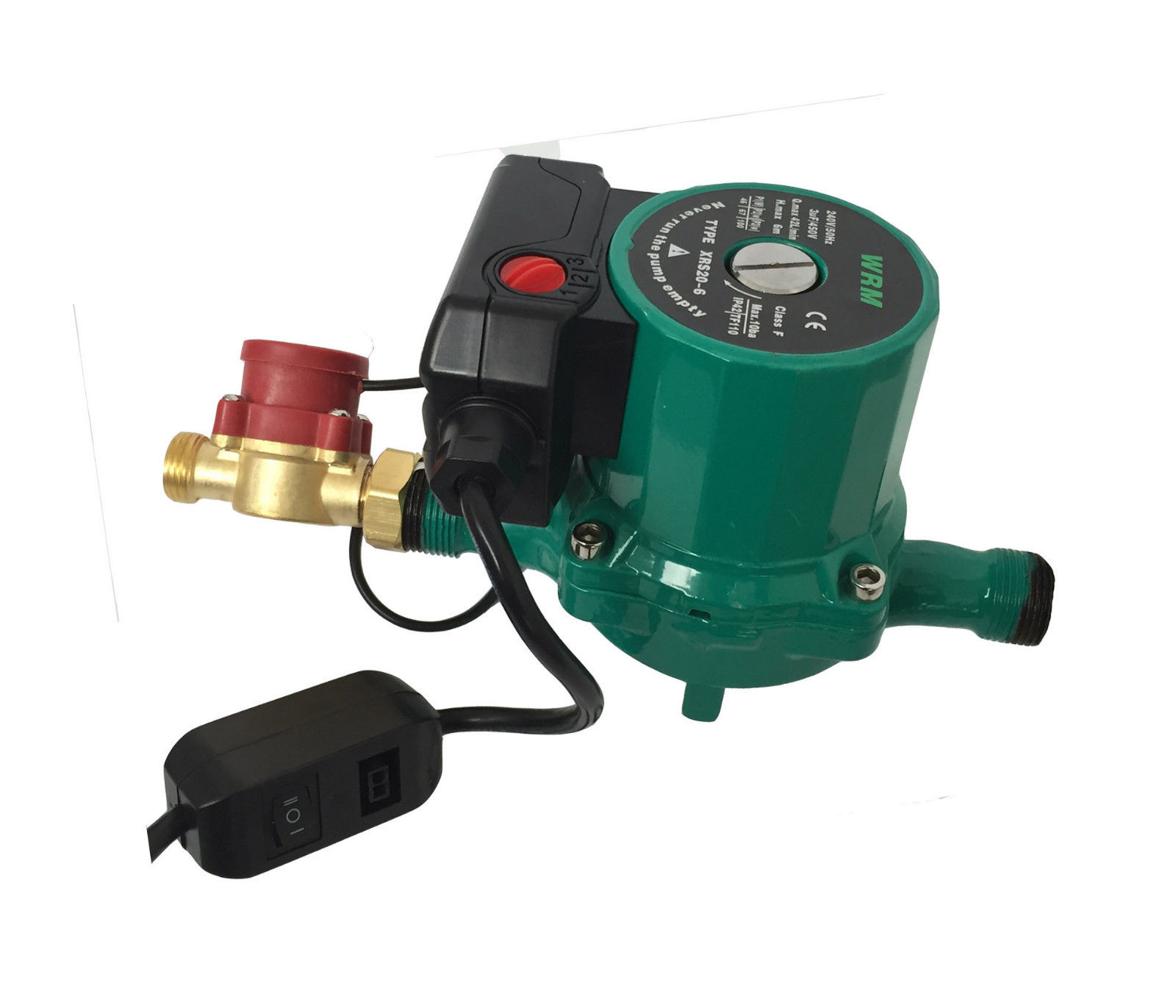 Automatic On Off Hot Water Booster Pump Gravity Fed Shower 45l Min 240 V Ebay